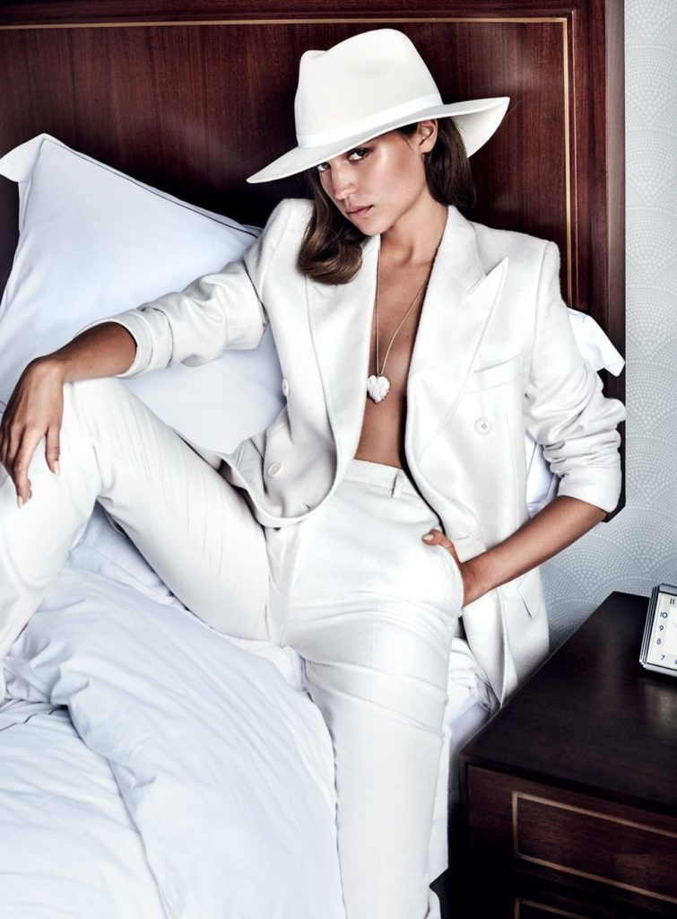 Alicia Vikander Jeans Sexy Pics