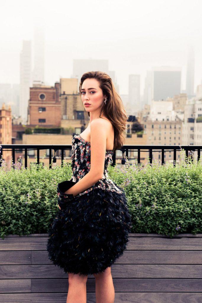 Alycia Debnam-Carey Lingerie Pics