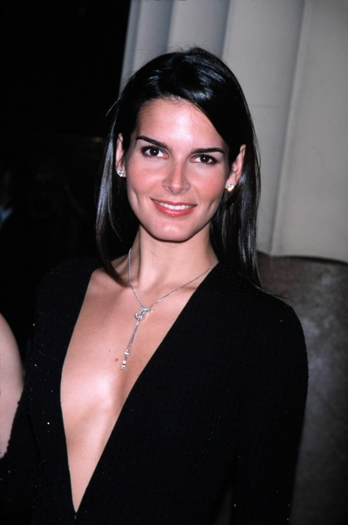 Angie Harmon Oops Moment Images