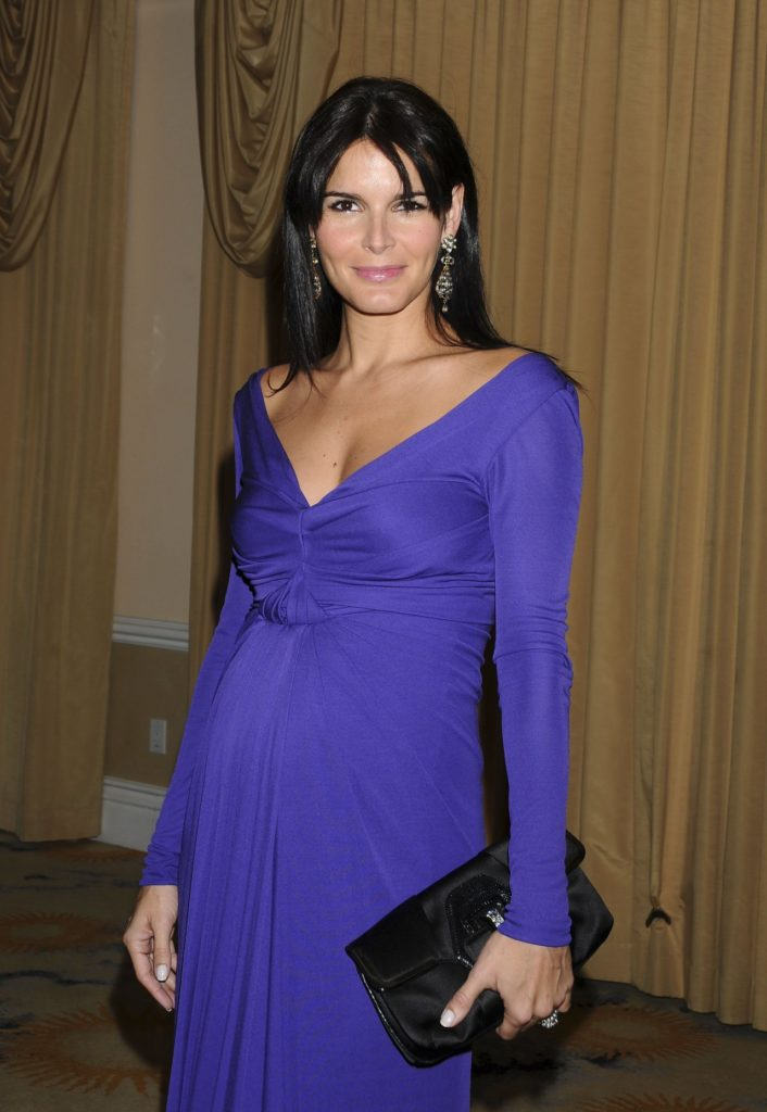 Angie Harmon Pregnant Pictures