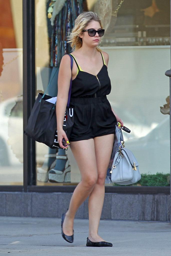 Ashley Benson In Undergarment Images