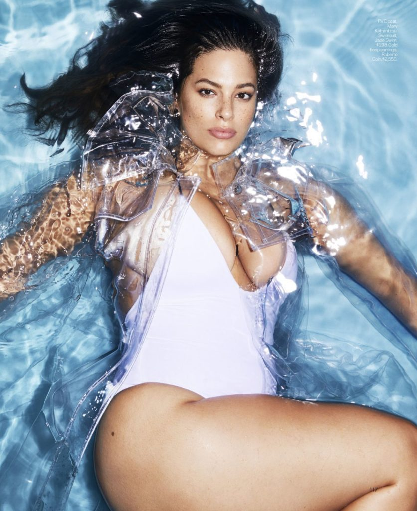Ashley Graham In Bikini Photoshoots