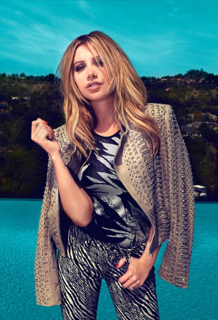 Ashley Tisdale New Hair Style Pics