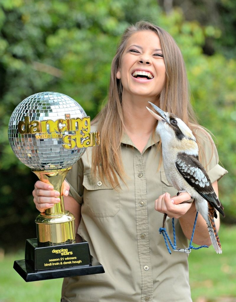 Bindi Irwin With Bird Pics
