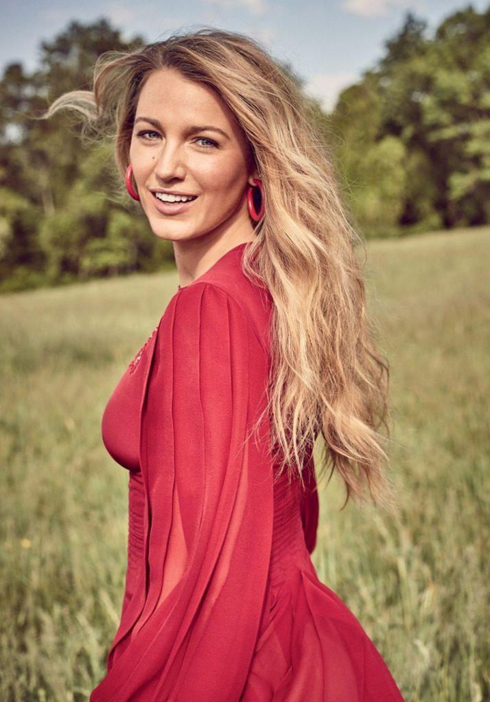 Blake Lively Long Hair Wallpapers