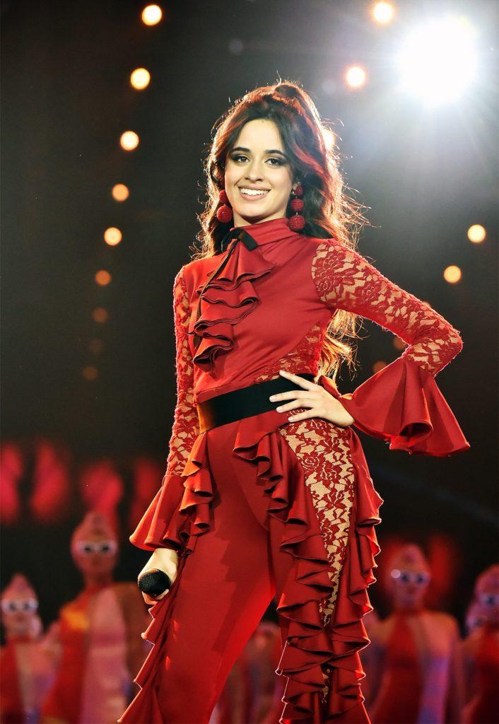 Camila Cabello Singing Pics
