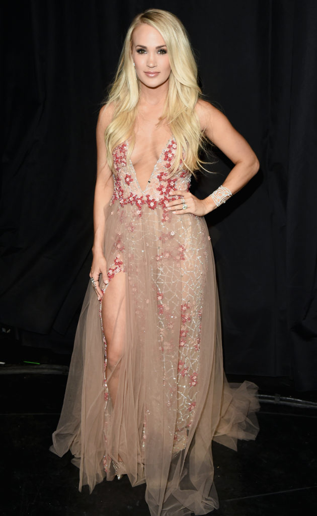 Carrie Underwood Oops Moment Images