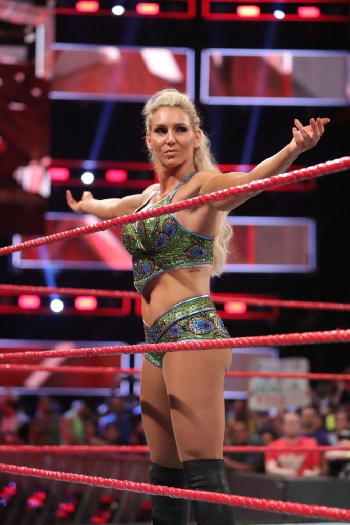 Charlotte Flair HD Pics In Ring