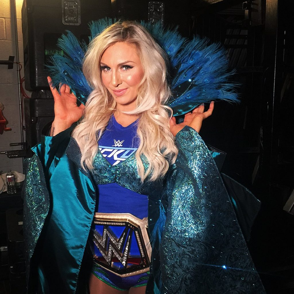 Charlotte Flair Makeup Pictures