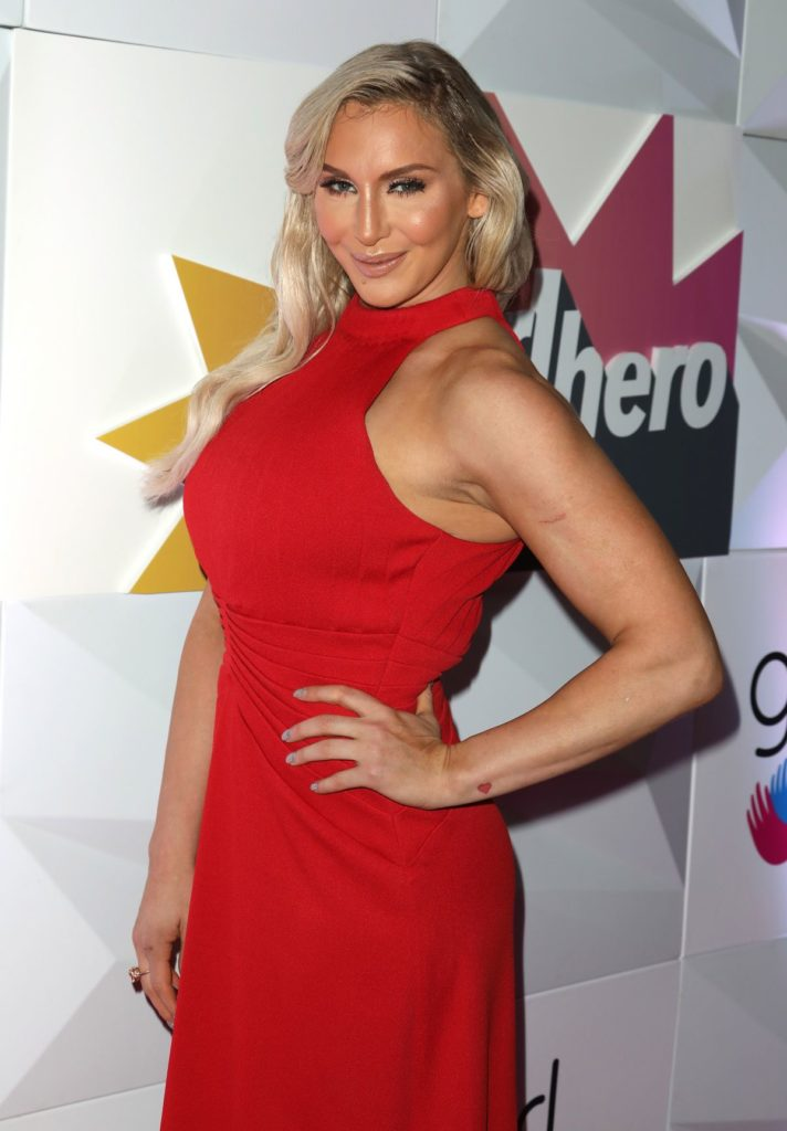 Charlotte Flair Muscles Pictures