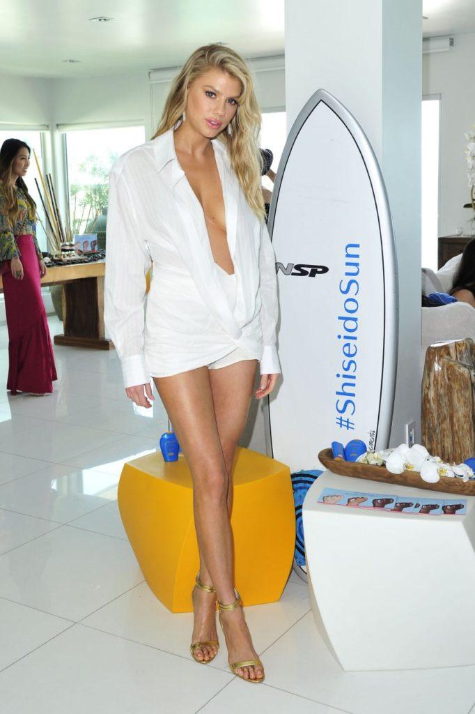 Charlotte McKinney Bold Undergarment Photos
