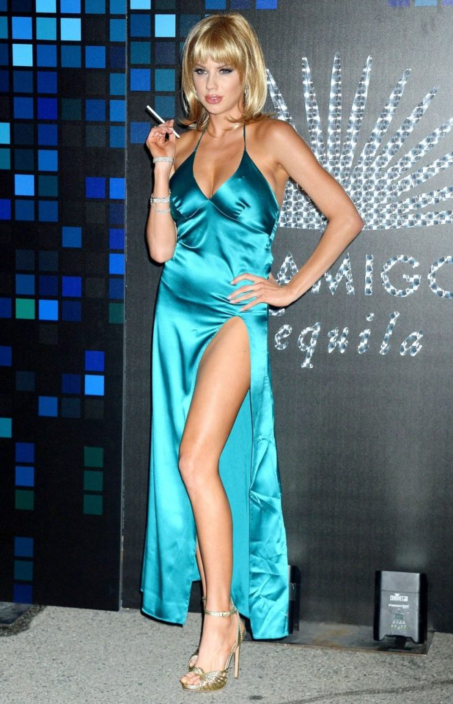 Charlotte McKinney Legs Oops Moments Pics
