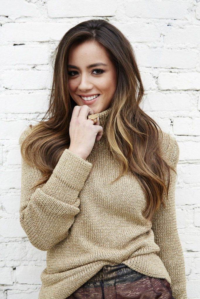 Chloe Bennet Smile Face Pictures