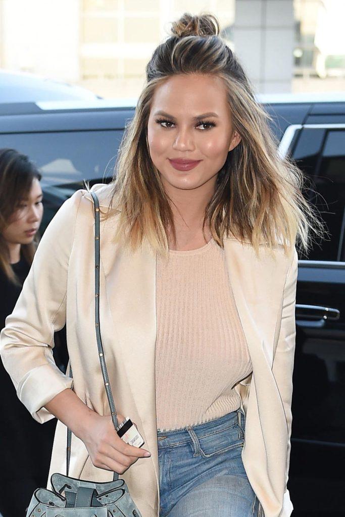 Chrissy Teigen Jeans Images