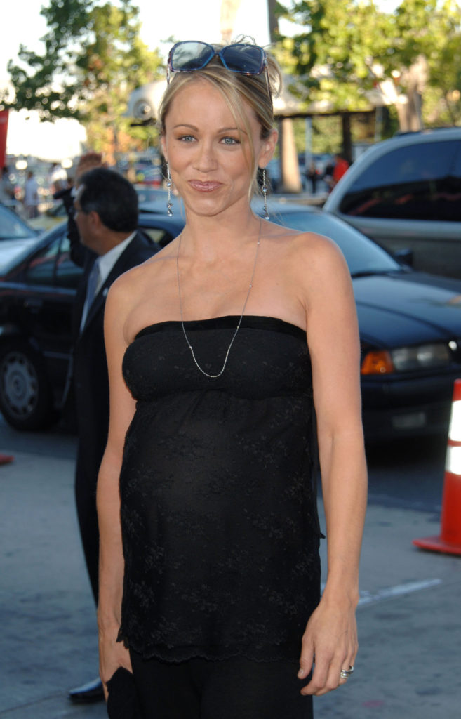 Christine Taylor Braless Images