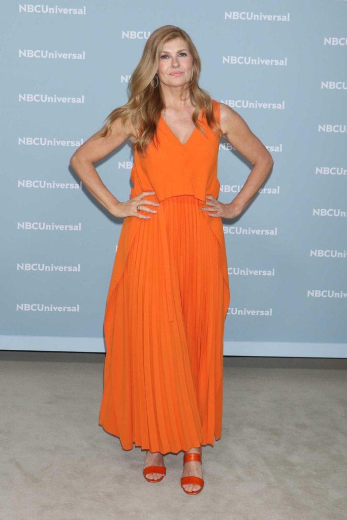 Connie Britton In Orange Clothes PIctures