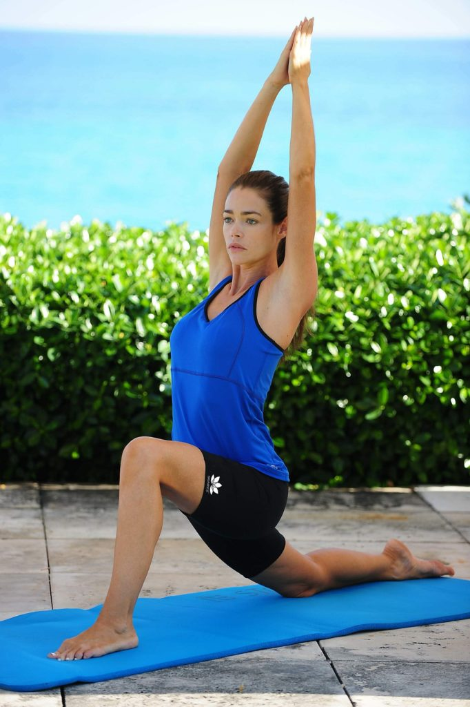 Denise Richards Workout Images