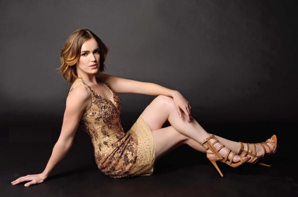 Elizabeth Henstridge Undergarments PHotos
