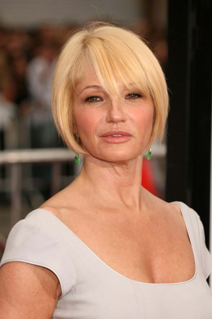 Ellen Barkin Short Hair Images