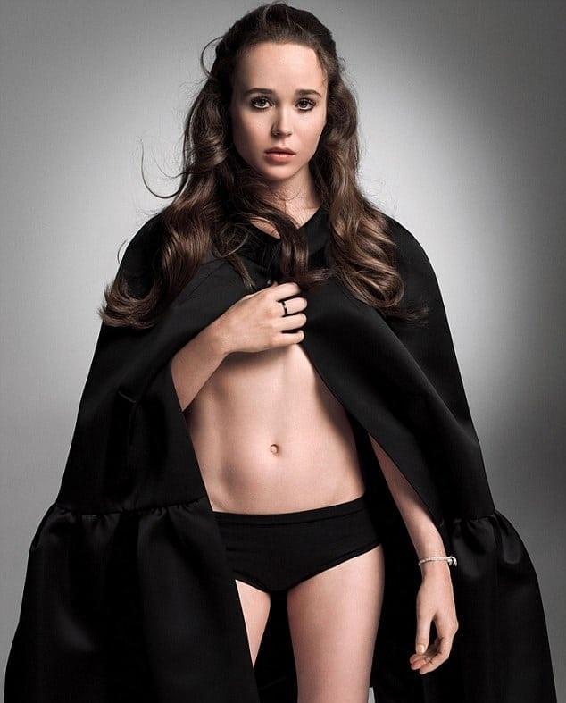 Ellen Page Bikini Bra Pics