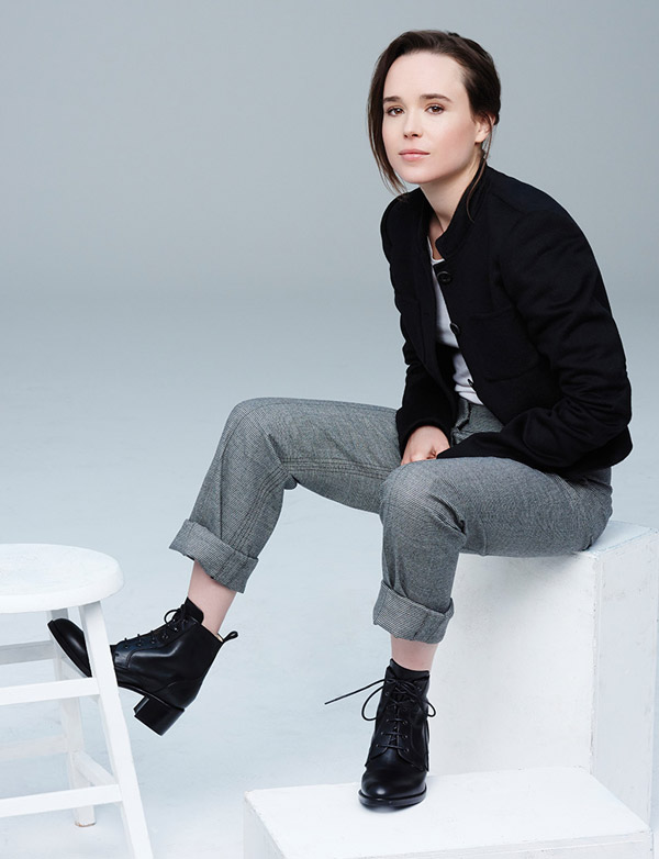Ellen Page Full Body Photoshoot