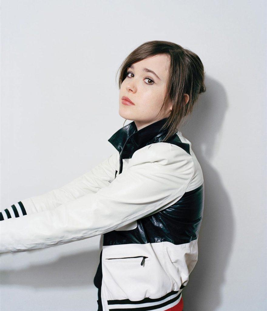 Ellen Page Makeup Photos