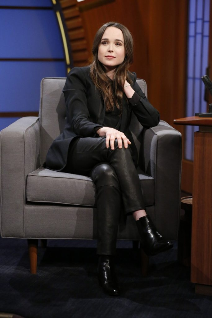 Ellen Page On The Television Show Pics