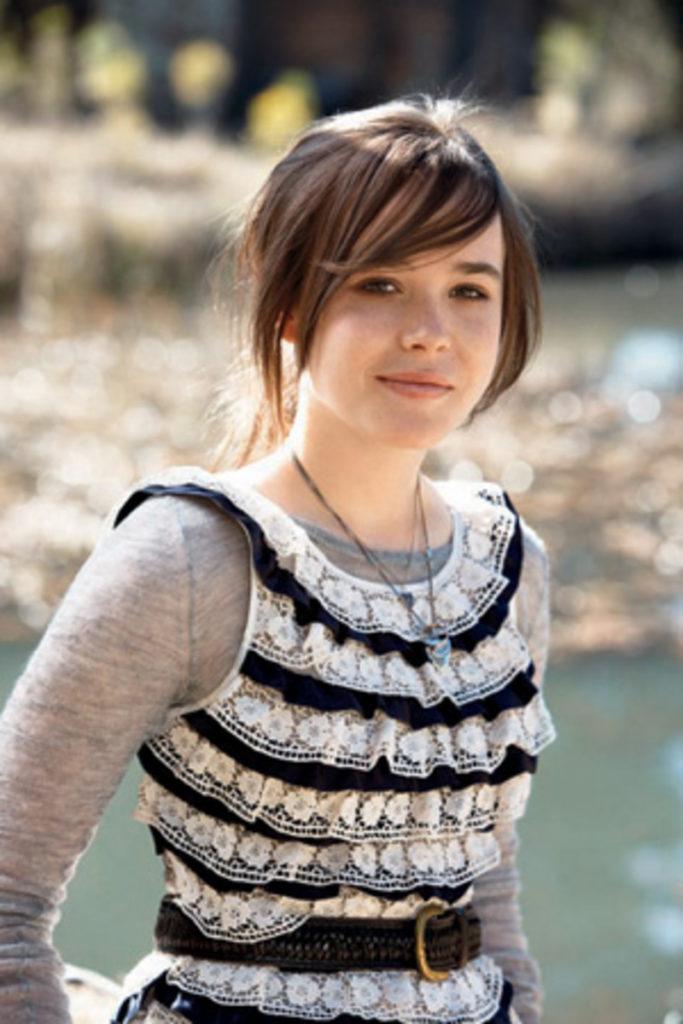 Ellen Page Short Hair Style Pics