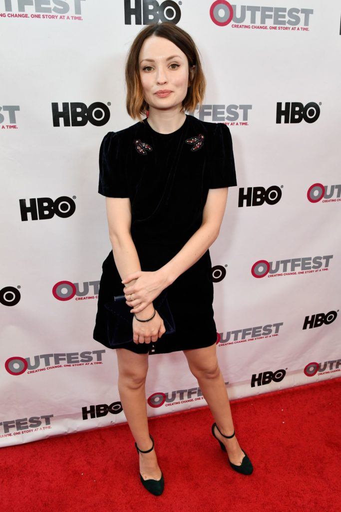 Emily Browning In Shorts Wallpapers