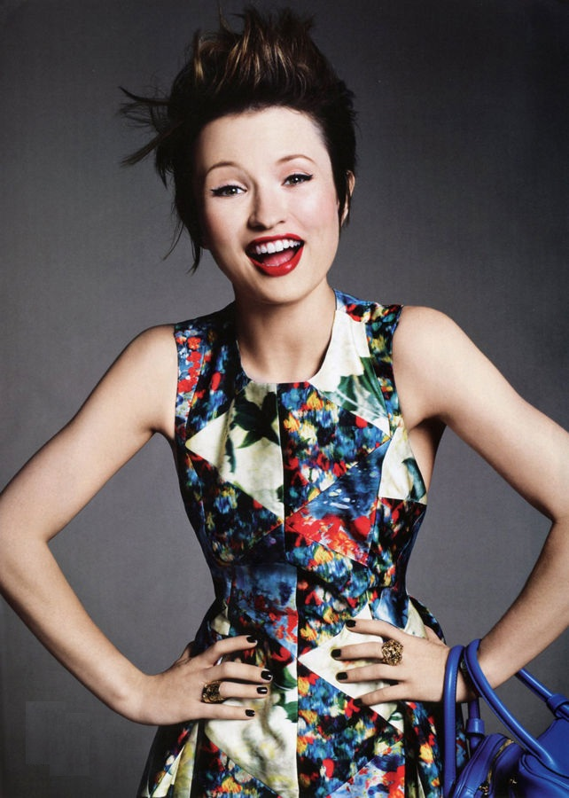 Emily Browning Smile Face Pics
