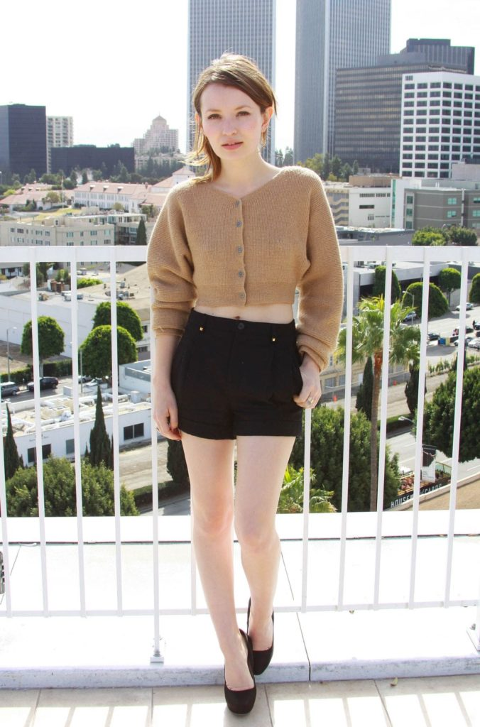 Emily Browning Undergarments pHotos