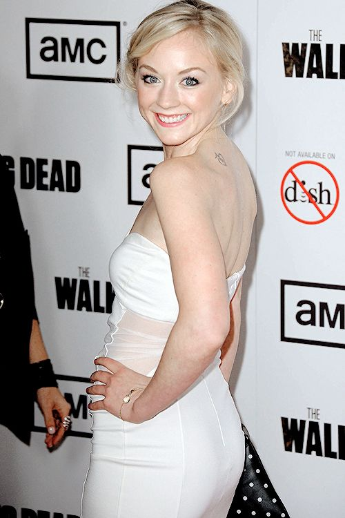 Emily Kinney Backless Images Gallery