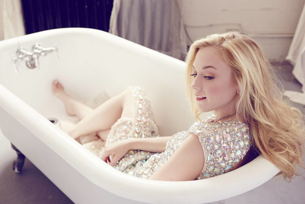 Emily Kinney In Bath Tub Pictures