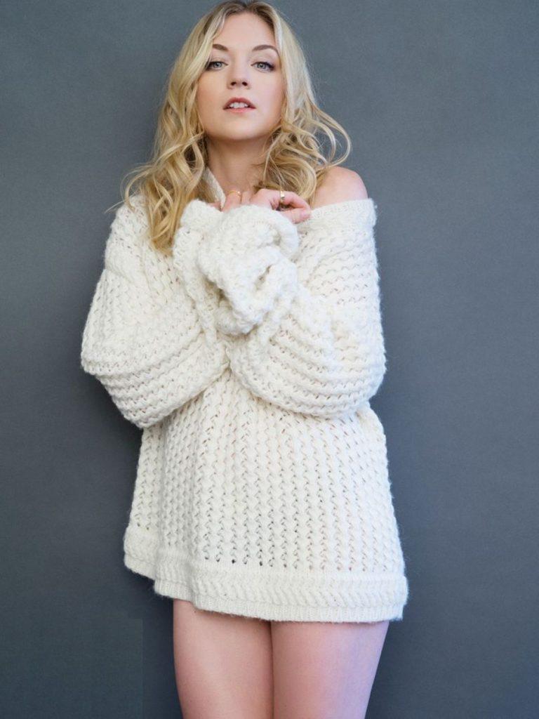 Emily Kinney In Undergarment Photoshoot