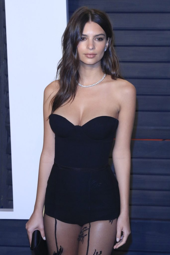Emily Ratajkowski In Short Dress Images