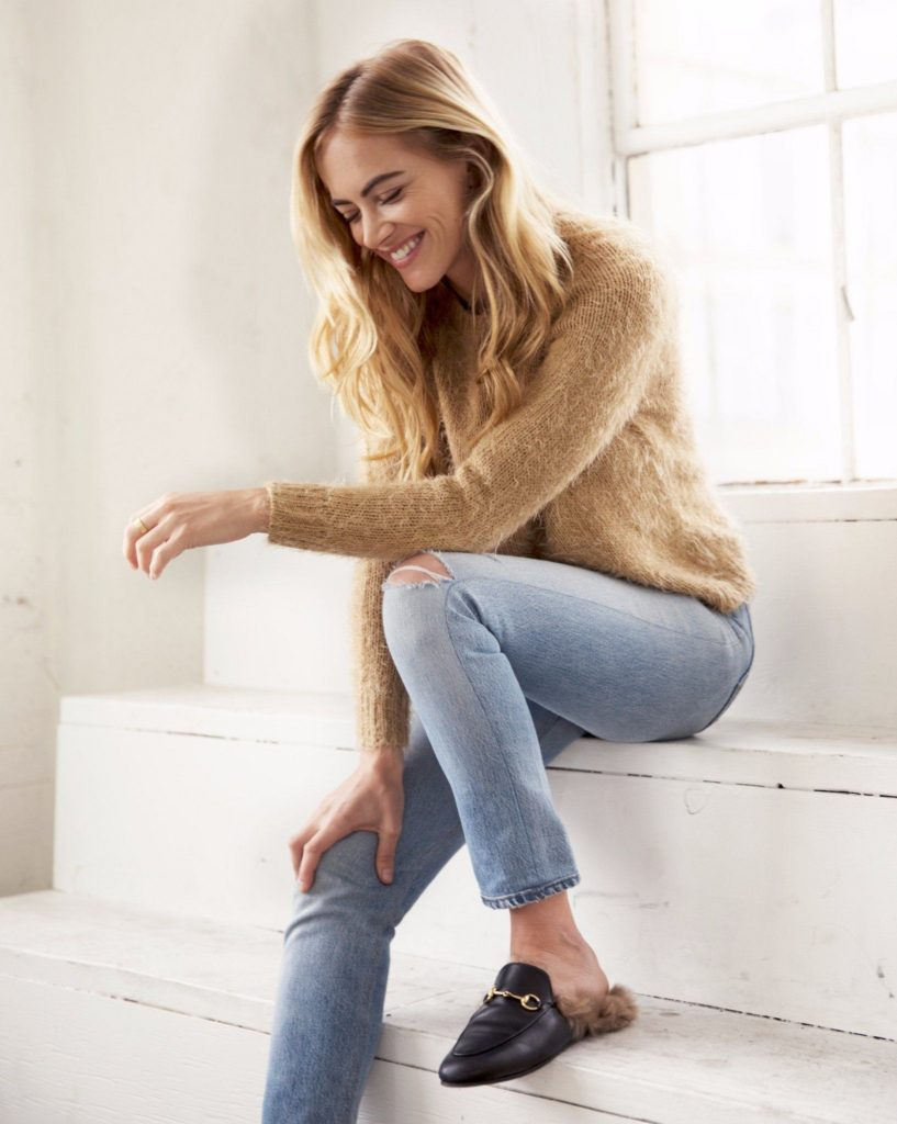 Emily Wickersham Jeans Photos