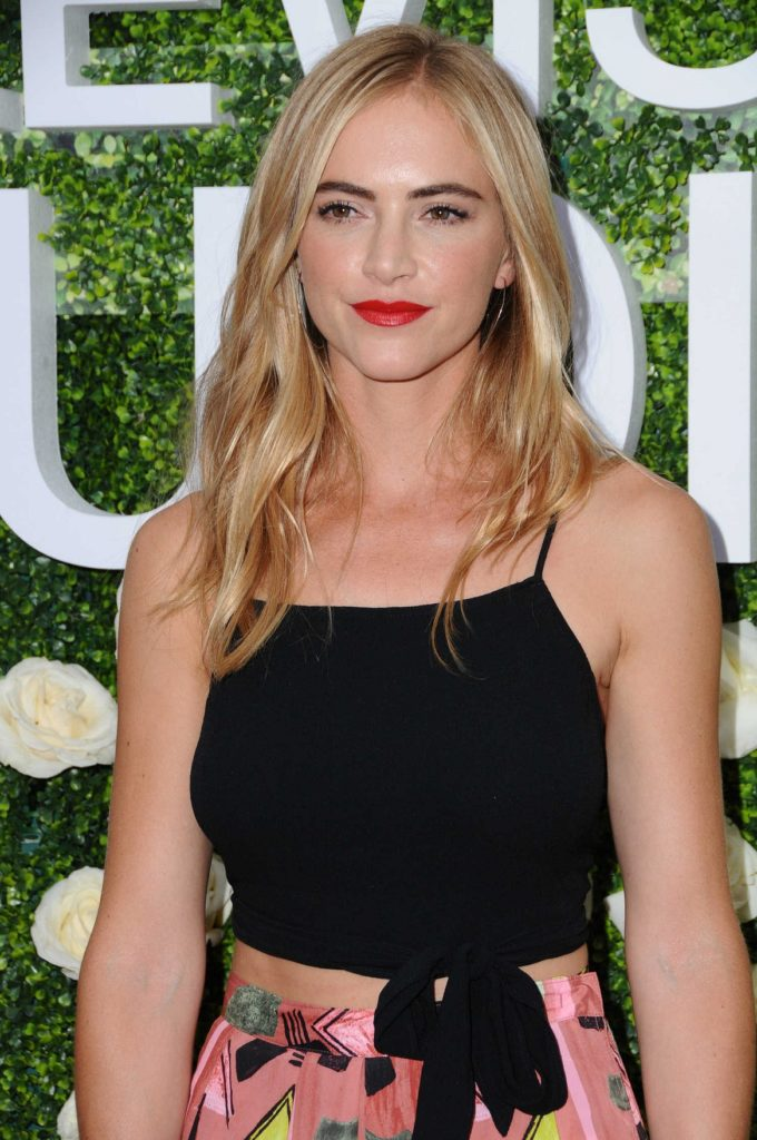 Emily Wickersham Makeup Pictures