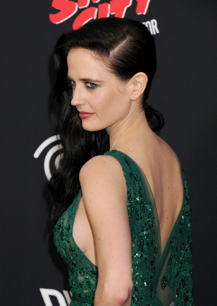 Eva Green Backless Pictures