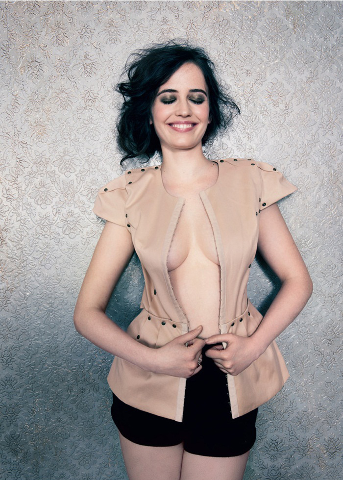 Eva Green Shorts Photoshoot
