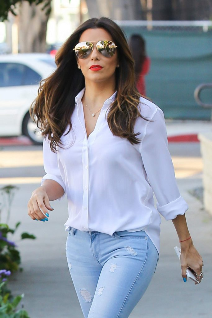 Eva Longoria Jeans Pics