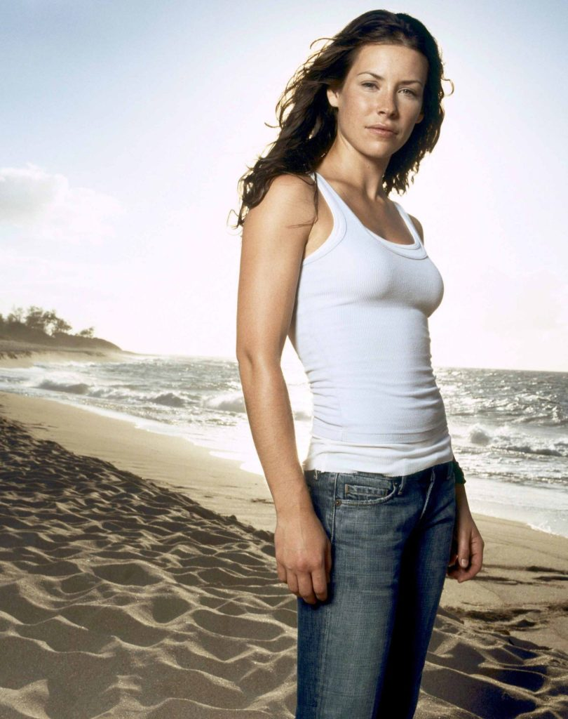 Evangeline Lilly Jeans Wallpapers