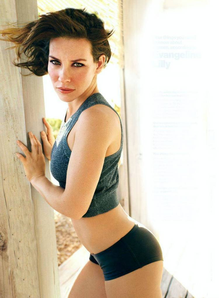 Evangeline Lilly Panty Butt PHotos