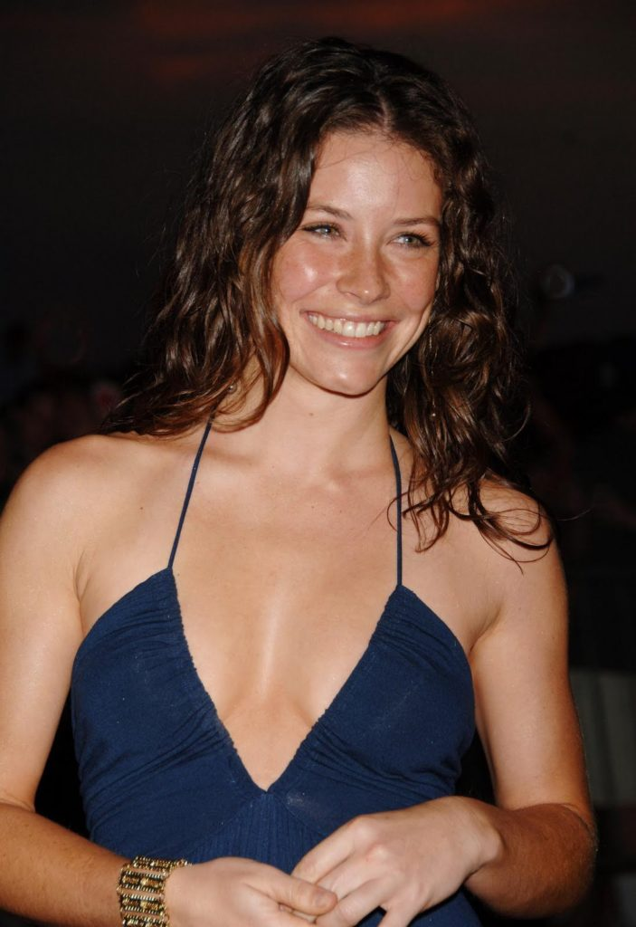 Evangeline Lilly Smile Pictures