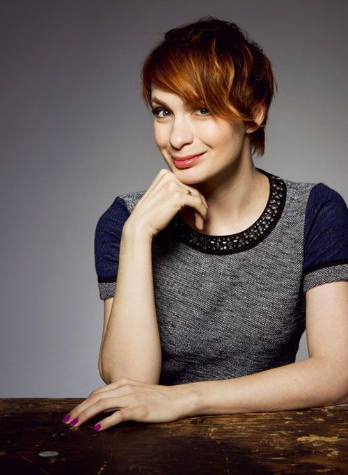 Felicia Day Hair Style Images