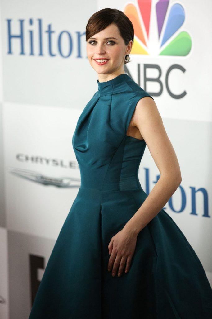 Felicity Jones In Gown Wallpapers