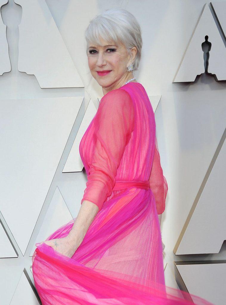 Helen Mirren In Gown Pics