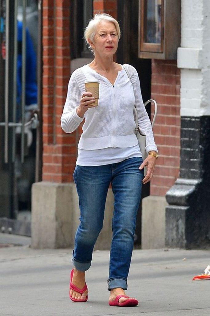 Helen Mirren Jeans Pictures