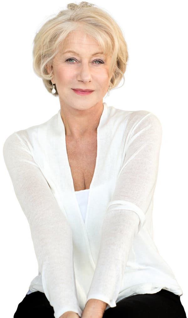 Helen Mirren Makeup Photos