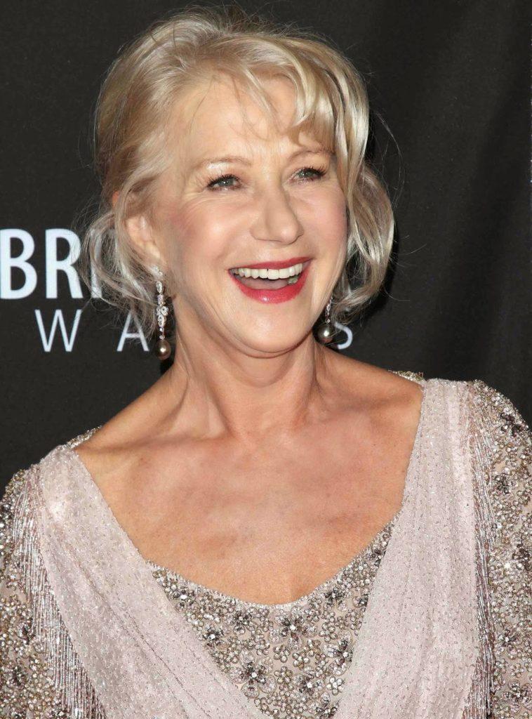 Helen Mirren Smiling Pics