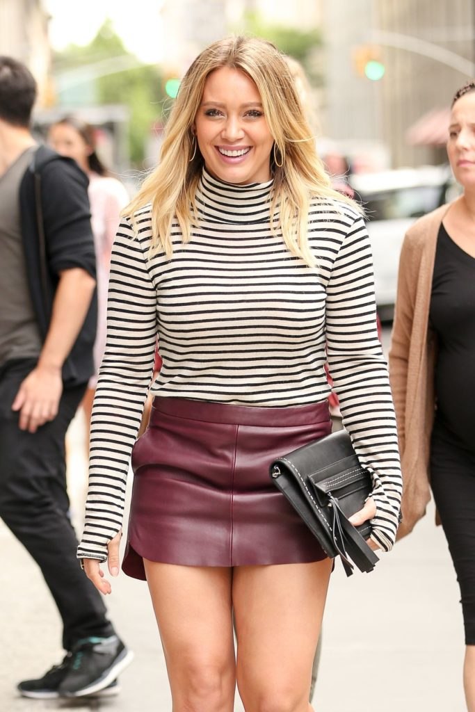 Hilary Duff Thighs Images